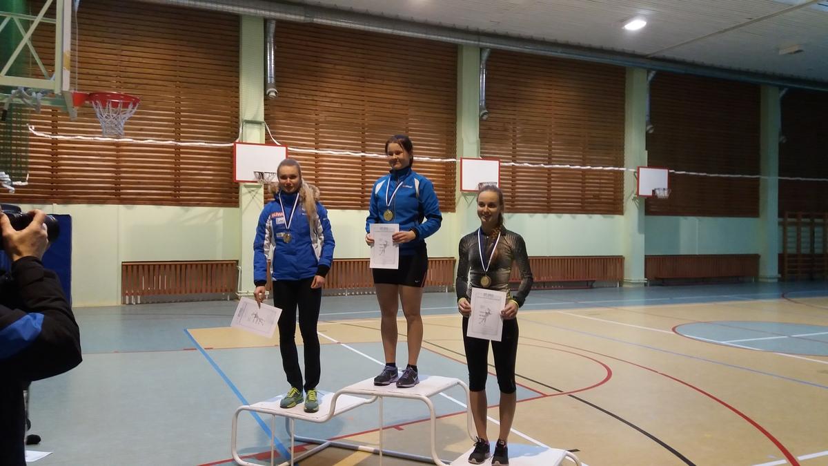 Kiiruisutamise Eesti meistrivõistlustel medalitesadu spordikooli sportlastele