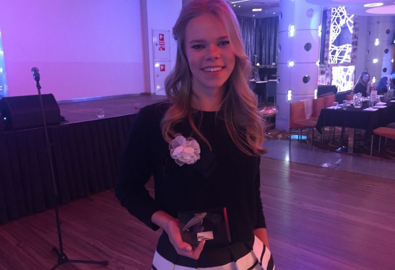 Aasta parim noorujuja on Kertu Kaare, parim noortetreener Merli Didvig